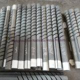 Elemento modificado para requisitos particulares del calentador del carborundo del espiral del doble de la talla