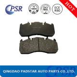 Almofada de freio resistente do caminhão do mercado de acessórios do Não-Asbesto