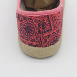 女性のための新しい方法低価格のキャンバスの偶然靴