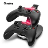USB LED Fast Charging Adapter Stand Dock Station Charger per il xBox Un Game Controller di Dual