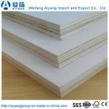 Hot vender mejor calidad de melamina 4X8 papel laminado de madera contrachapada de