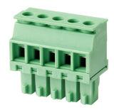 Conetor Pluggable do bloco terminal com passo de 3.5mm 3.81mm