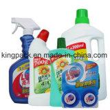 Halbautomatisches Haustier/Plastikflaschen-Schrauben-mit einer Kappe bedeckende Maschine