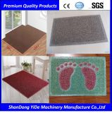 プラスチックPVC二重カラーおよび白黒カラーコイルの床のマット
