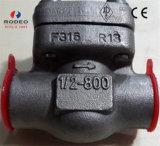 API 602は鋼鉄ばねの上昇ピストン小切手弁を造った