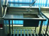 Eco-W1 Lave-vaisselle inoxydable Table de travail en acier