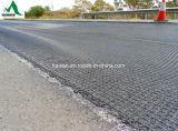 Poliestere basso Geogrid di allungamento per il rinforzo del fondo stradale