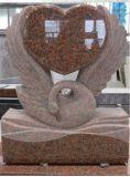 Headstones di pietra commemorativi dei monumenti della lapide delle pietre tombali del cimitero del granito poco costoso da vendere