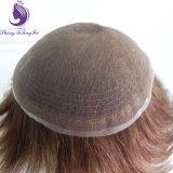 Plein de dentelle Suisse Cheveux humains Toupee (TP30)