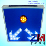 Ce & RoHS aprobado Solar señal de tráfico / LED parpadeando Cartel