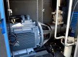 Industrieel leid de Gedreven Enige Compressor van de Lucht van de Schroef van het Stadium Roterende