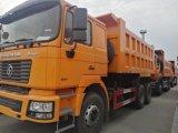 Shacmanのダンプカートラック鉱山のダンプトラック6X4