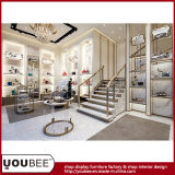 High End Lady Chaussures à talons hauts et bottes Showcase, Women Shoes Retail Shop Design