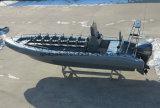Aqualand 26pies 8m sólido guardabarros Sponson de espuma EVA Non-Air tubo lleno/inflables rígido patrulla militar rescate /Buceo /costilla en barco a motor (rib800b)