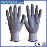 Перчатки отрезока Hppe отрезока 5 анти- с покрытием PU