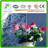 alta qualidade Rolledglass de 2.5mm do vidro modelado da flora desobstruída