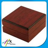 Contenitore di imballaggio di legno spesso di legno naturale dei monili del MDF di marchio su ordinazione Handmade di lusso