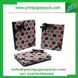Cajas de papel del arte del regalo caja de embalaje joyería de caramelo