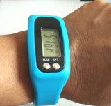 Horloge met Pedometer met de Teller van de Stap