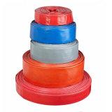 Layflat Manguera de descarga de agua de PVC Tubo Tubo de montaje con accesorios