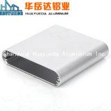 Perfis extrudados de 6.063 T5 perfil de alumínio anodizado Champanhe
