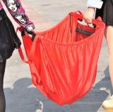 Suppermarketのトロリーのための再使用可能な420dオックスフォードのナイロンFoldable買物車袋