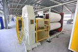 5 capas de cartón corrugado que hace la máquina