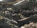 Brésil Cosmic Black Cosmos Black Matrix Titanium Prada Gold Granite