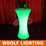 Mesa de centro impermeable del iluminador del plástico LED de la venta caliente 2016
