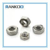 304/316 hexagonale en acier inoxydable écrous à souder