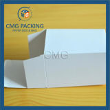 Unadorned синего цветов печати бумаги небольшого торт в салоне (CMG-торт в салоне-009)