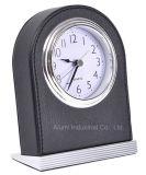 Relógio de desktop de couro de hotel para hotel Supplies