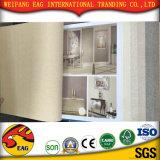 capa de la pared del PVC 3D para el papel pintado impermeable de la pared decorativa