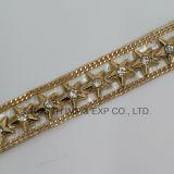 테이프 모조 다이아몬드 이동 의복 부속품에 도매 Hotfix 형식 디자인 철