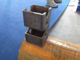 Máquinas de metal Plasma CNC máquina de corte de tubo quadrado, Cortador de Tubos CNC