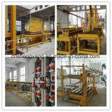 Panneau de particules faisant la chaîne de production de la machine OSB chaîne de production semi automatique de panneau de puce