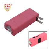 2017발의 가장 강한 소형 다채로운 개인적인 방어 분홍색을%s LED 점화를 가진 스턴 총을 (TW-801)