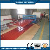 Un653 PPGI metal galvanizado hierro Hoja de techado de 0.18*680 mm