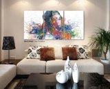 2016 Nova Moda decoração sala de pintura abstracta