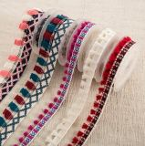 方法衣服および装飾のための各国用様式のふさのレースのフリンジ