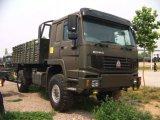 HOWO 4X4 군 화물 자동차 화물 트럭