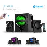Nieuwe Aankomst 2.1 Fabrikant van de Hifi LEIDENE van Subwoofer van het Theater van het Huis van het Huis AudioSpreker Bluetooth van de Kleur de Lichte