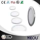 Squre 3W 6W 9W 12W 24W 18W Ultra Thin DEL Panel Light avec CE&RoHS DEL Downlight Ceiling Light