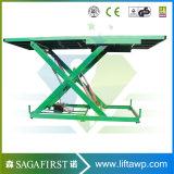 3ton 5ton 6ton hydraulischer elektrischer LKW Scissor Aufzug-Plattform-LKW-Eingabe-Aufzug-Tisch