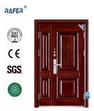 Venda quente uma e meia porta de aço (RA-S126)