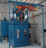 ホックのタイプ金属の工作物のショットブラスト機械