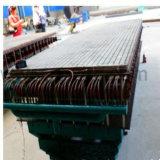 섬유유리 플라스틱 GRP 미끄럼 방지 삐걱거리는 생산 설비 기계
