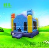 ウィザード様式の弾力がある城の子供のための跳躍の家の膨脹可能な警備員