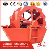 높 능률적인 바퀴 실리카 모래 세척 및 탈수 기계