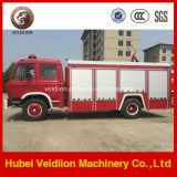 4X2 1500ガロンの特別な火の手段、消火活動のトラック